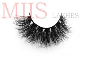 what are mink lashes made of