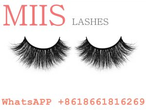 comfortable mink false eyelashes